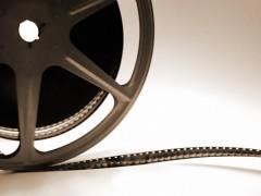 Alte Kino-Filmrolle