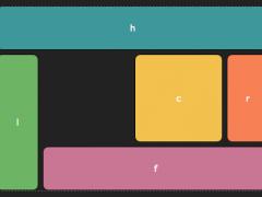 Darstellung eines möglichen Layouts mit dem neuen Grid-Modul