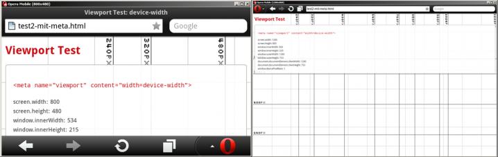 device-width Konstante hat auf Handys und Tablets verschiedene Werte