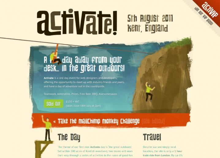 Screenshot: preparetoactivate.com
