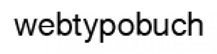 Textbeispiel mit hochauflösender Graustufen-Glättung