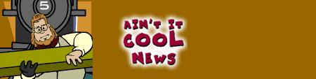 Der Header von aintitcool.com
