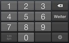 Zahlenblock ohne Sonderzeichen beim type-Parameter number auf Android