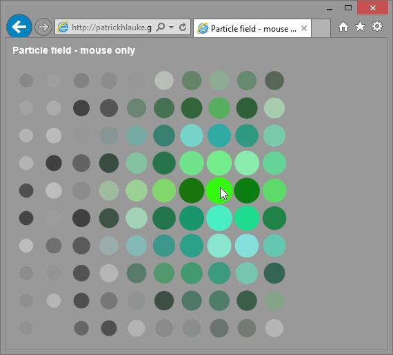 Beispiel 4 – Canvas-Spielerei – nur Maus-orientiert; funktioniert nur teilweise auf Windows 8.1/ IE11