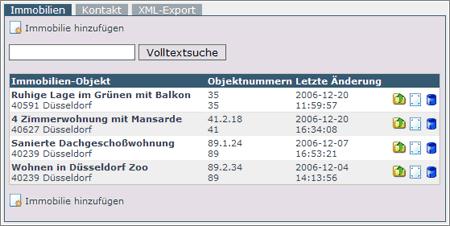 Beispiel für Integration eines Moduls mit XML-Schnittstelle