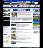 Screenshot der Webseite von Arminia Bielefeld, verkleinert