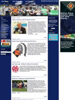 Screenshot der Webseite der TuS Koblenz, verkleinert
