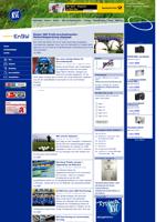 Screenshot der Webseite des Karlsruher SC, verkleinert