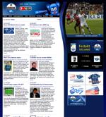 Screenshot der Webseite des SC Paderborn, verkleinert