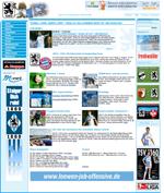 Screenshot der Webseite des TSV 1860 München, verkleinert