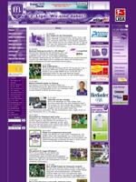 Screenshot von der Webseite des VfL Osnabrück, verkleinert