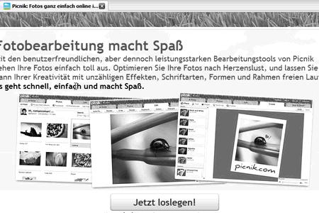 Screenshot: picnic.com