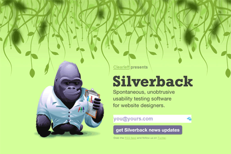 Screenshot: silverbackapp.com