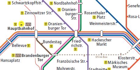 Screenshot der Berliner Netzspinne