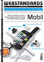 Cover des Webstandards-Magazins 05